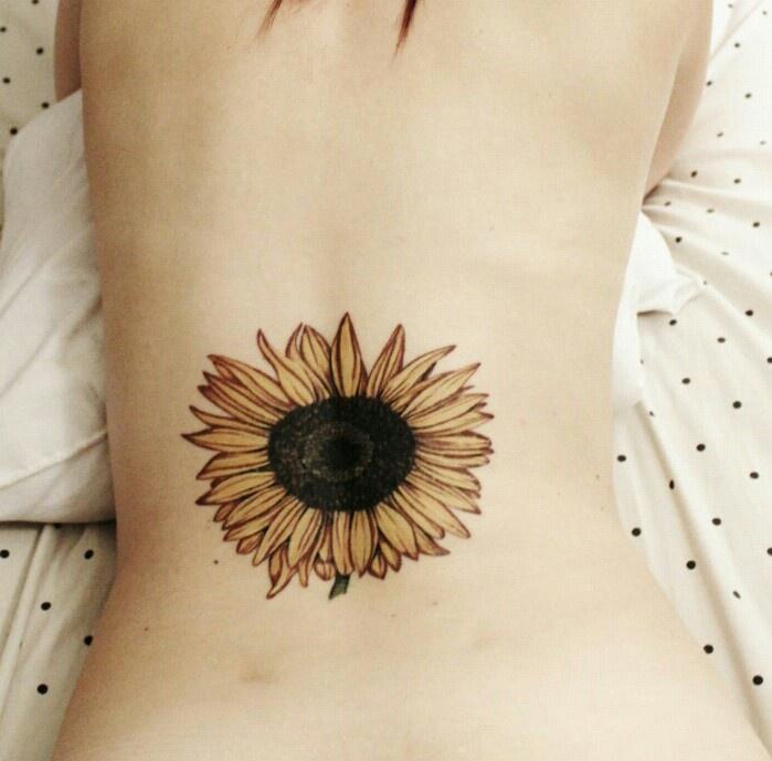sunflower tattoos photo - 12