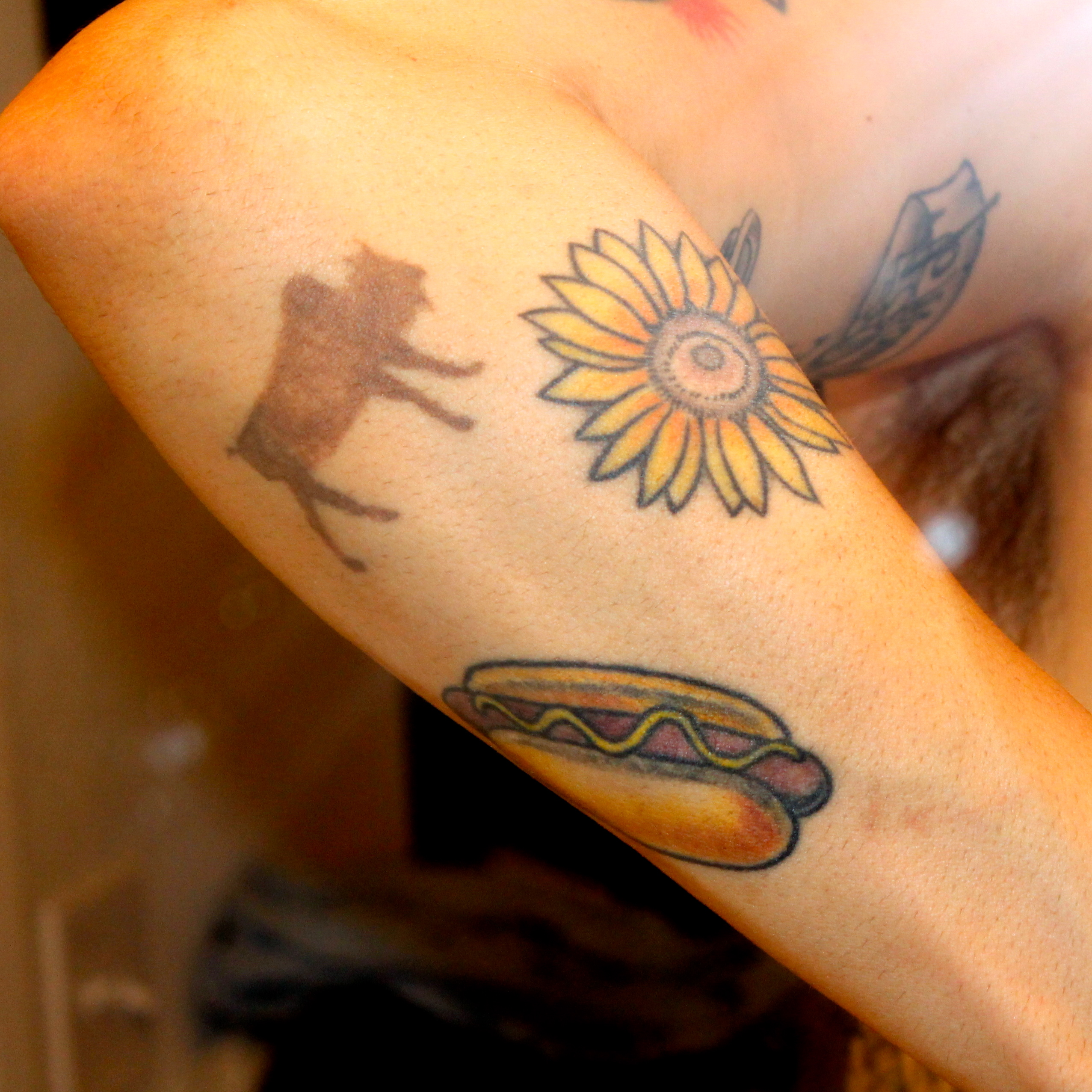 sunflower tattoos photo - 14