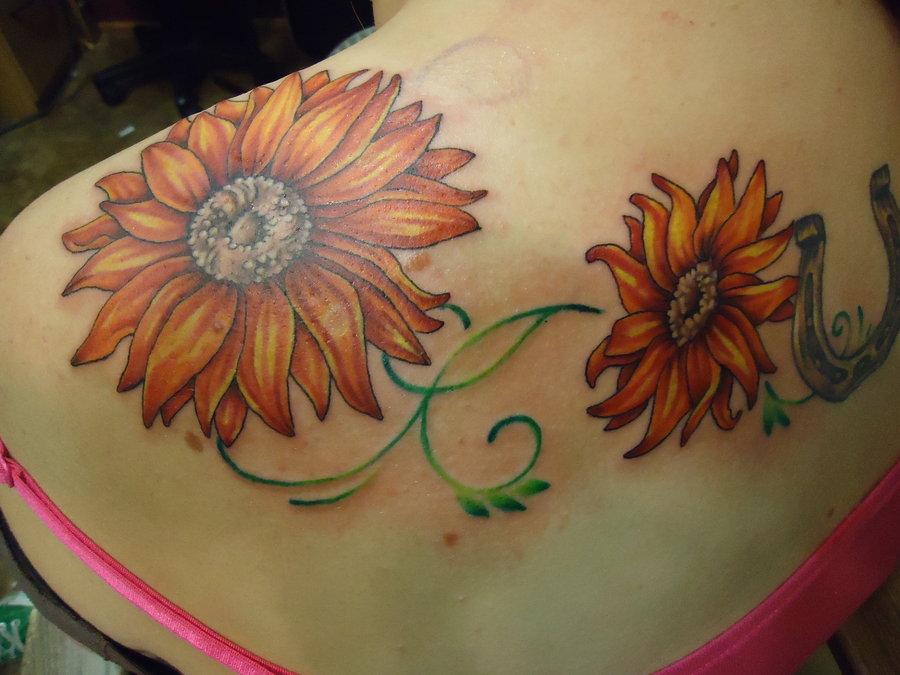 sunflower tattoos photo - 16