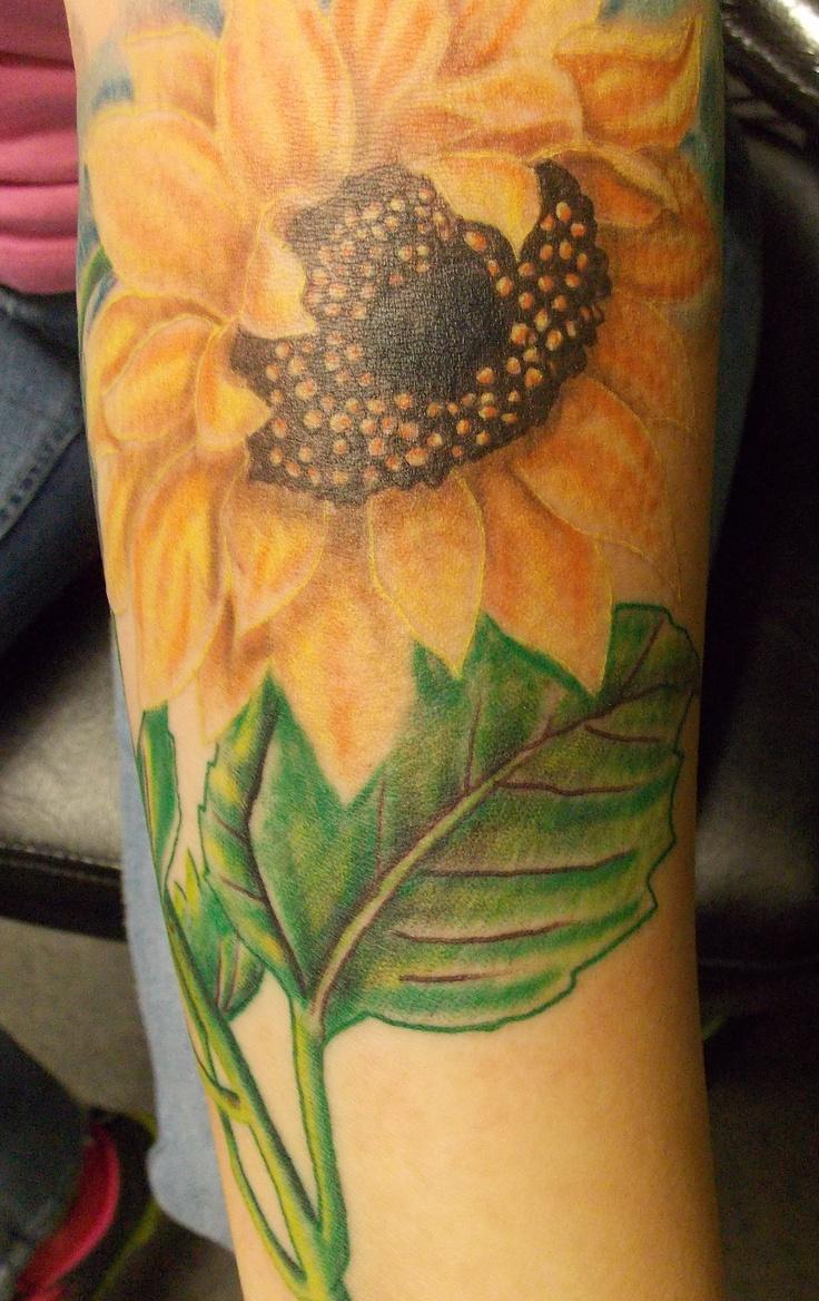 sunflower tattoos photo - 2