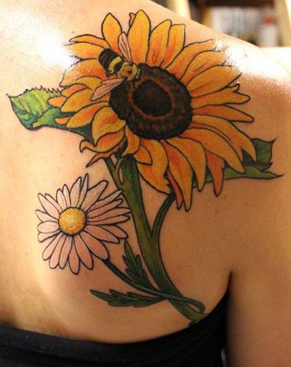 sunflower tattoos photo - 20