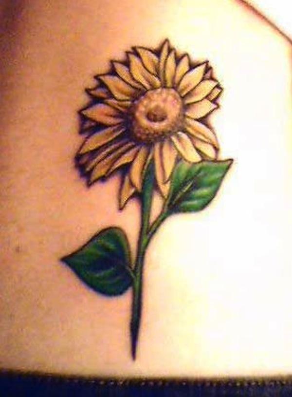 sunflower tattoos photo - 21