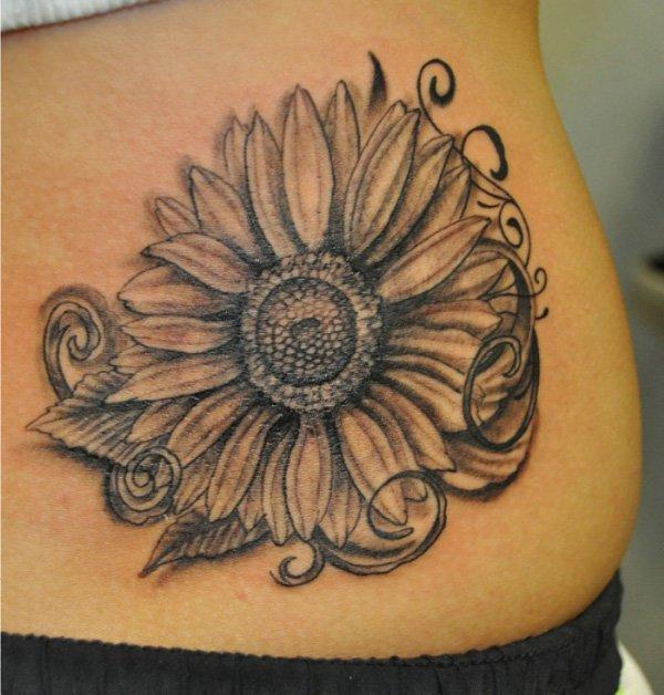 sunflower tattoos photo - 24