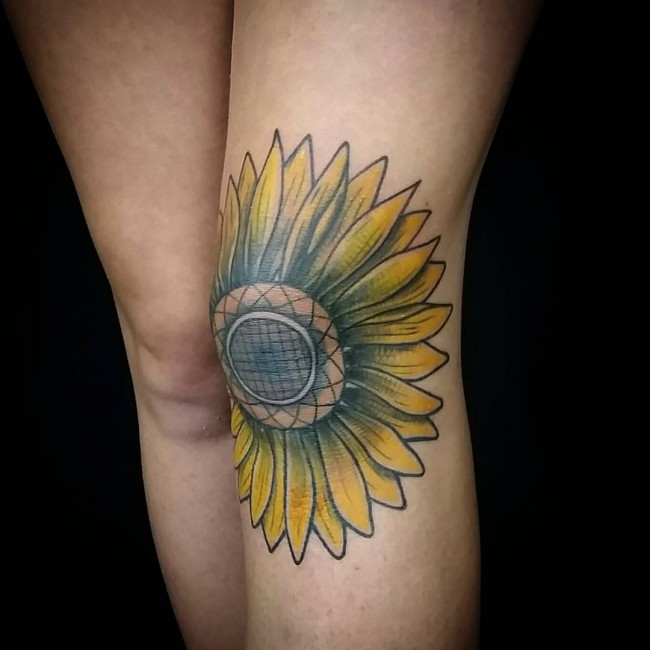 sunflower tattoos photo - 25