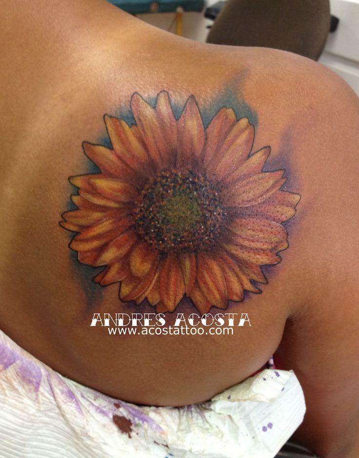 sunflower tattoos photo - 28