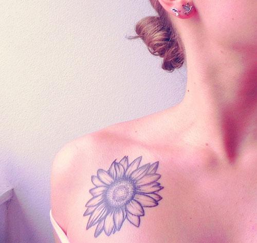 sunflower tattoos photo - 31