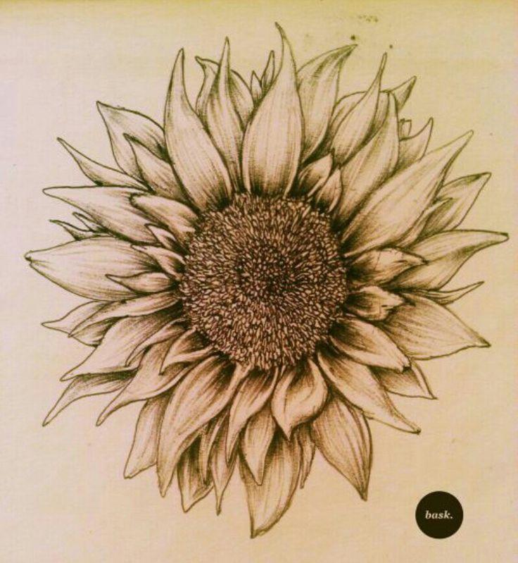 sunflower tattoos photo - 37