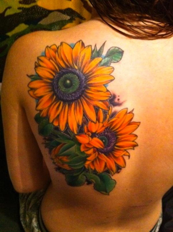 sunflower tattoos photo - 7