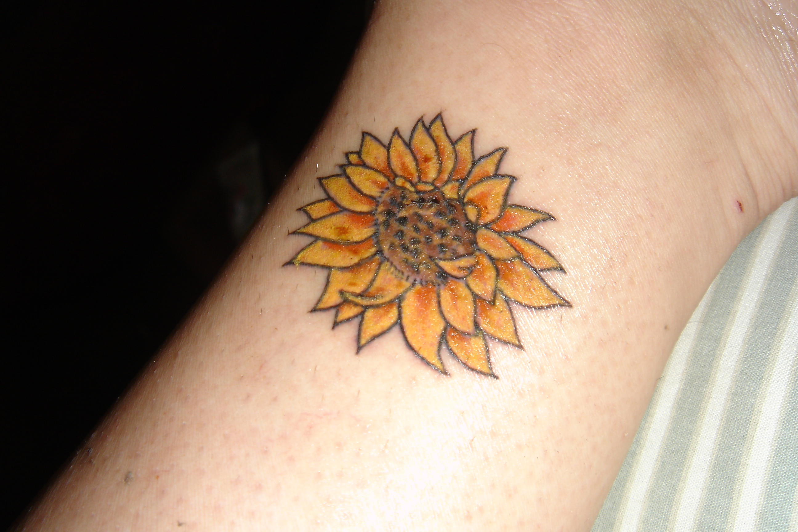 sunflower tattoos photo - 9