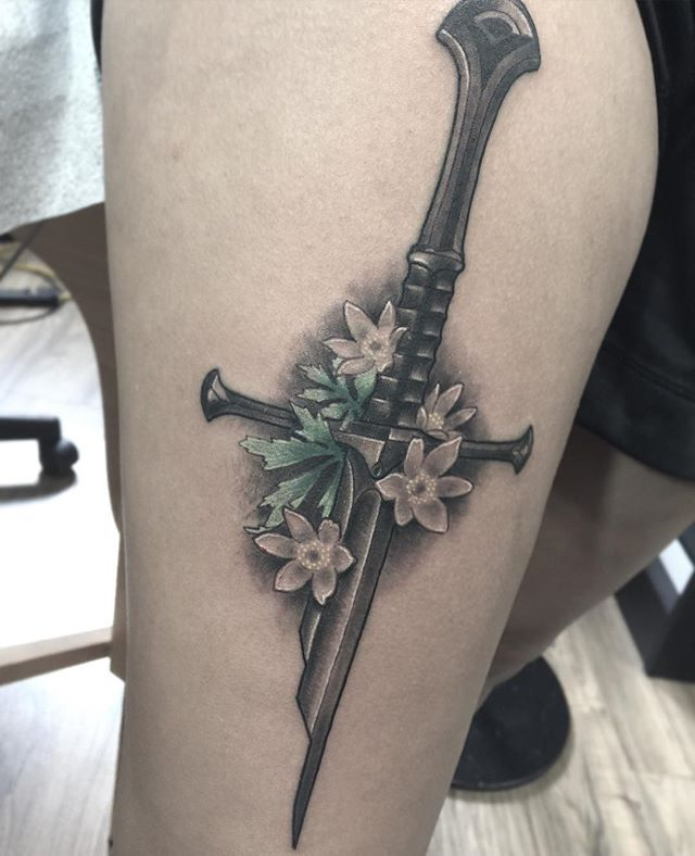 sword tattoos photo - 11