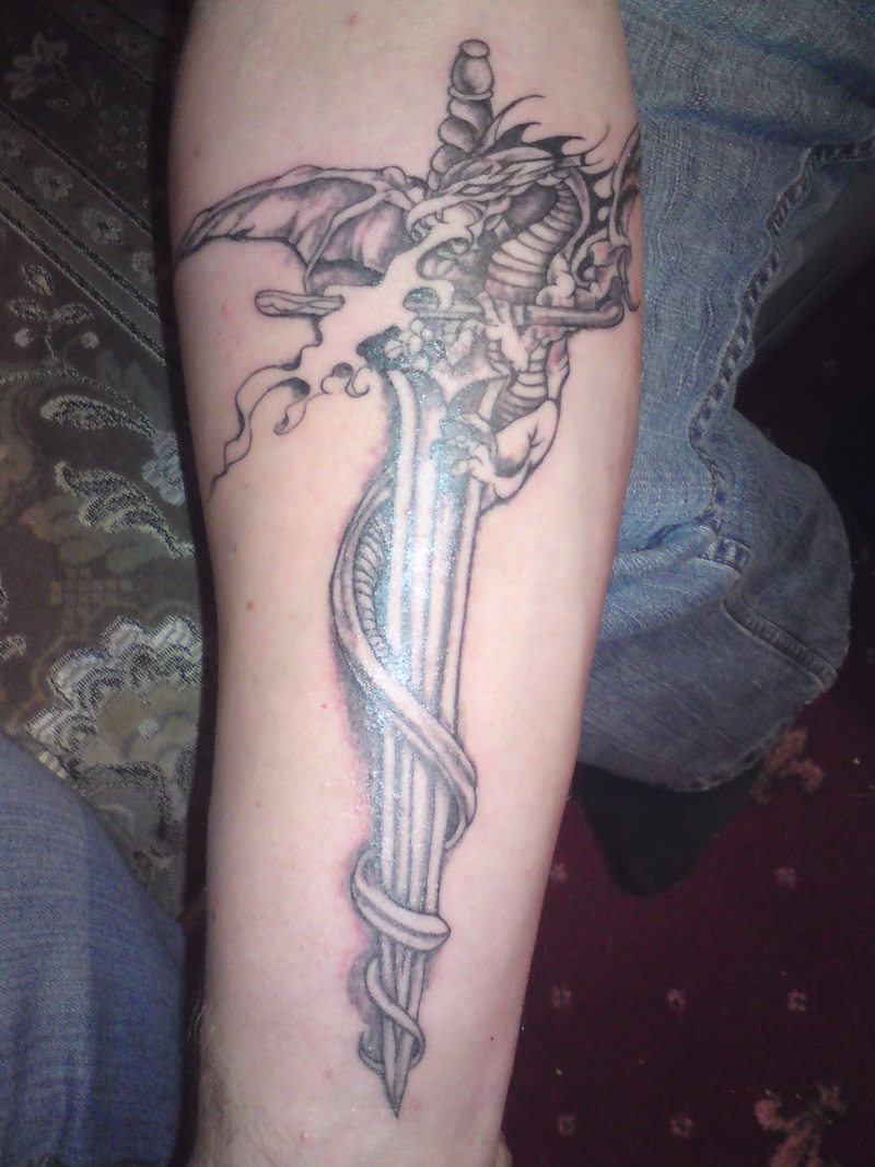 sword tattoos photo - 2