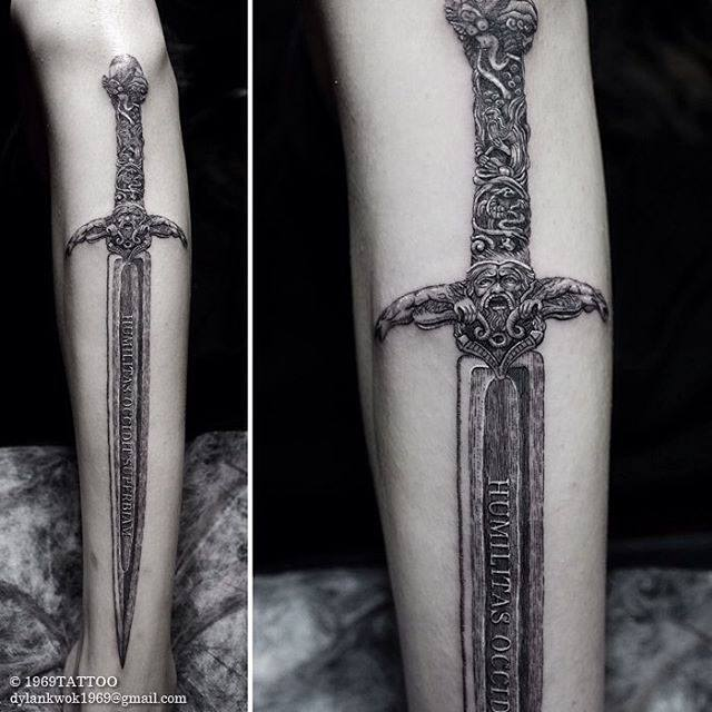 sword tattoos photo - 20