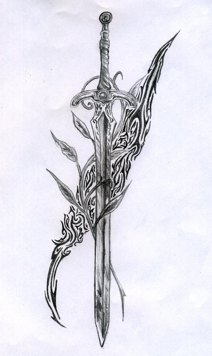 sword tattoos photo - 27