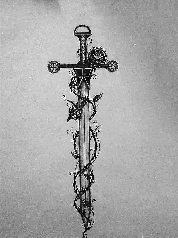 sword tattoos photo - 28
