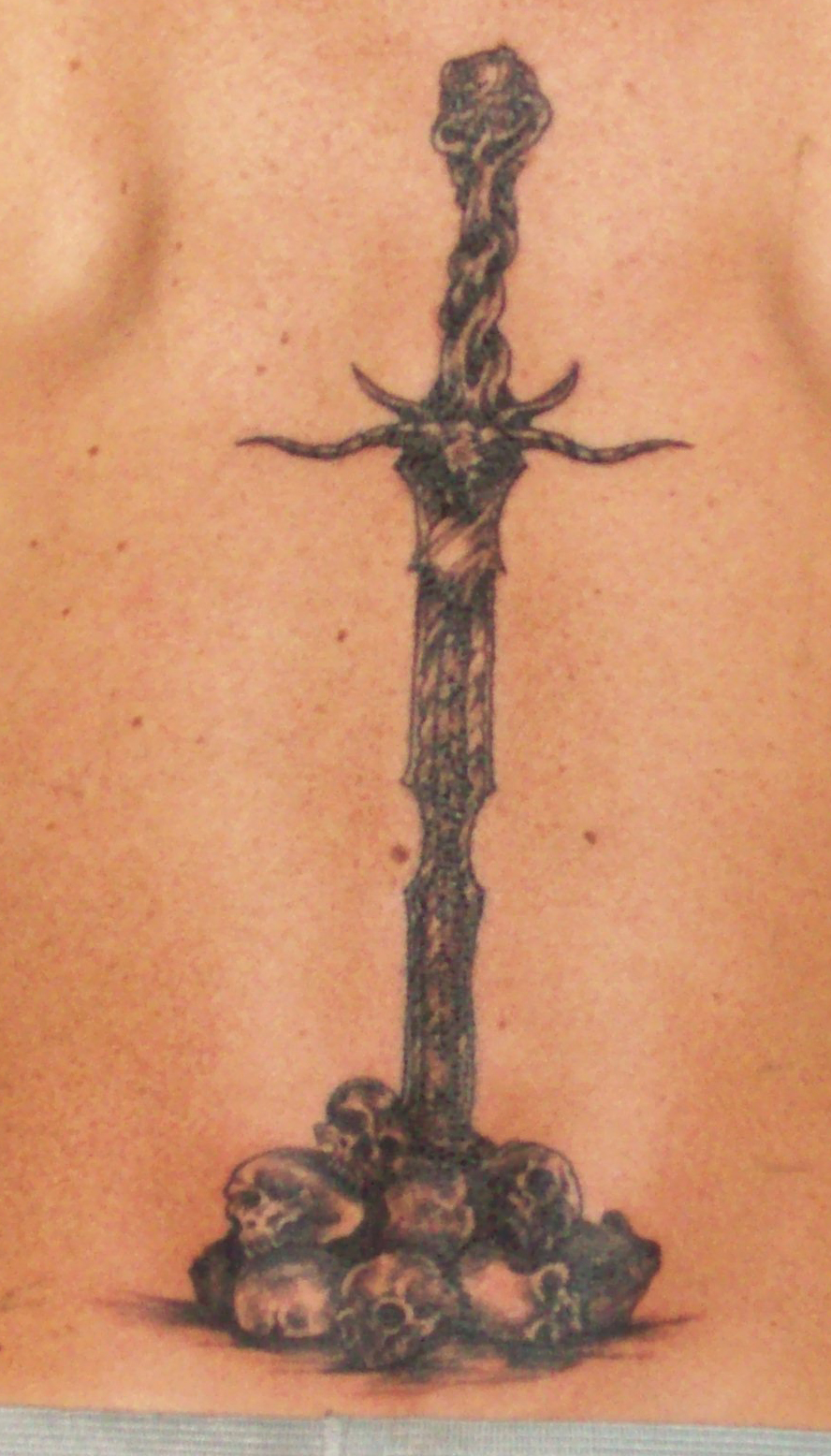 sword tattoos photo - 30