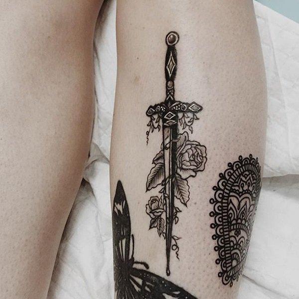 sword tattoos photo - 4