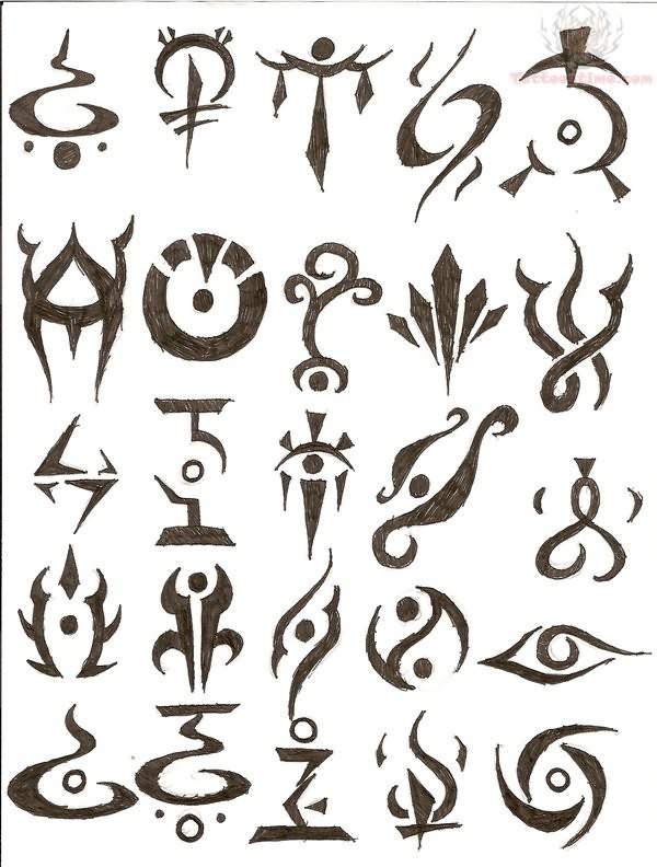 symbol tattoos photo - 2