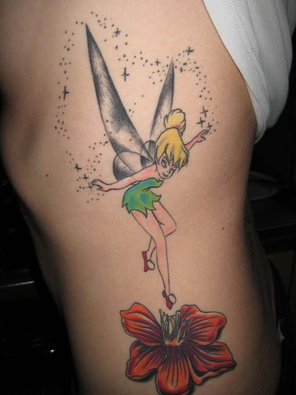 tinkerbell tattoos photo - 1