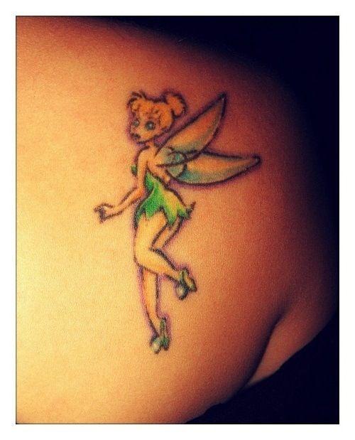 tinkerbell tattoos photo - 12