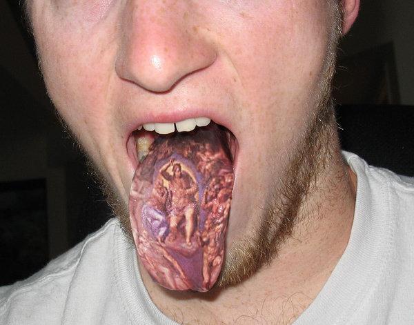 tongue tattoos photo - 2
