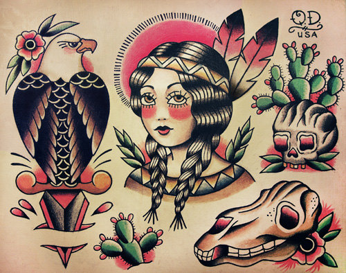 traditional tattoos photo - 23