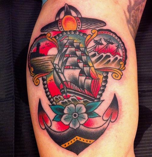 traditional tattoos photo - 35