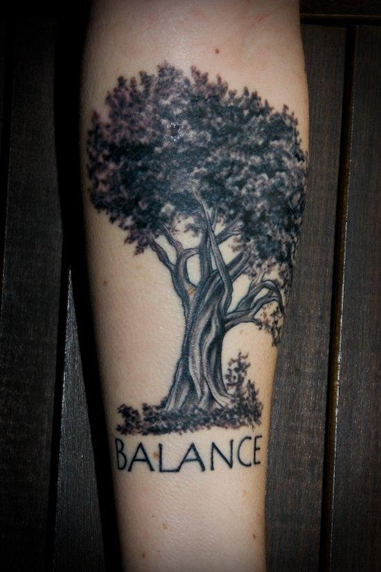 tree tattoos photo - 15