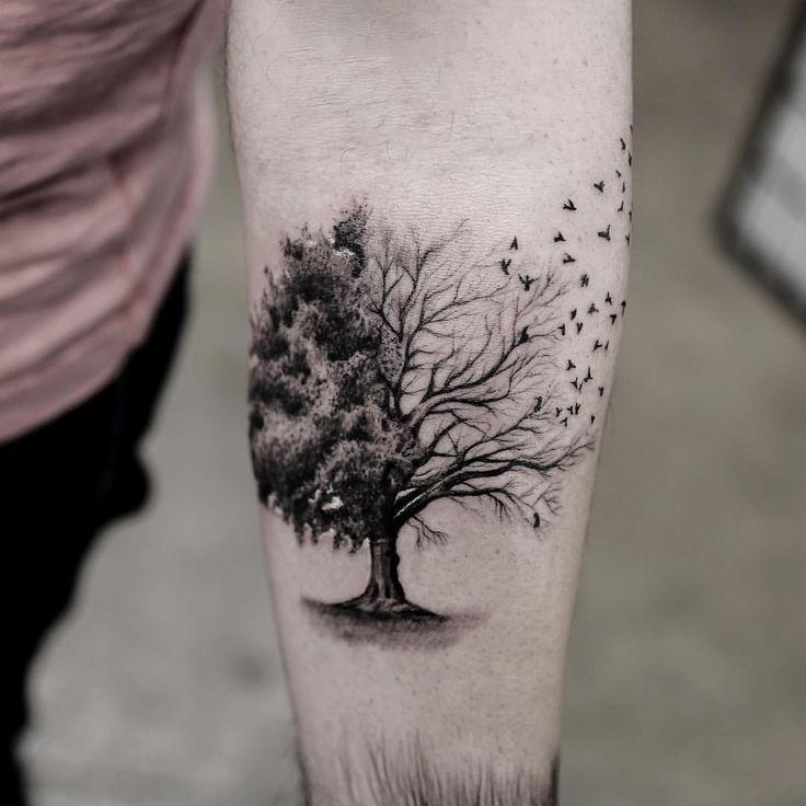 tree tattoos photo - 29