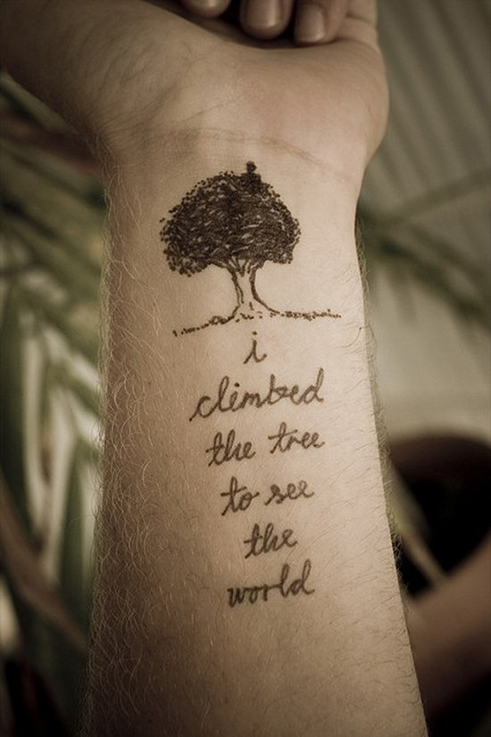 tree tattoos photo - 35