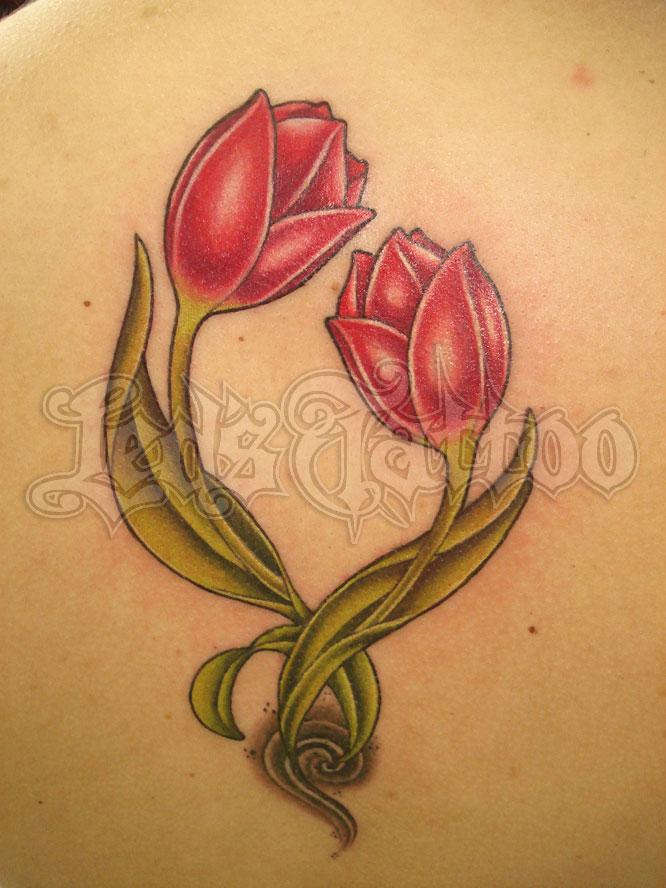 tulip tattoos photo - 15