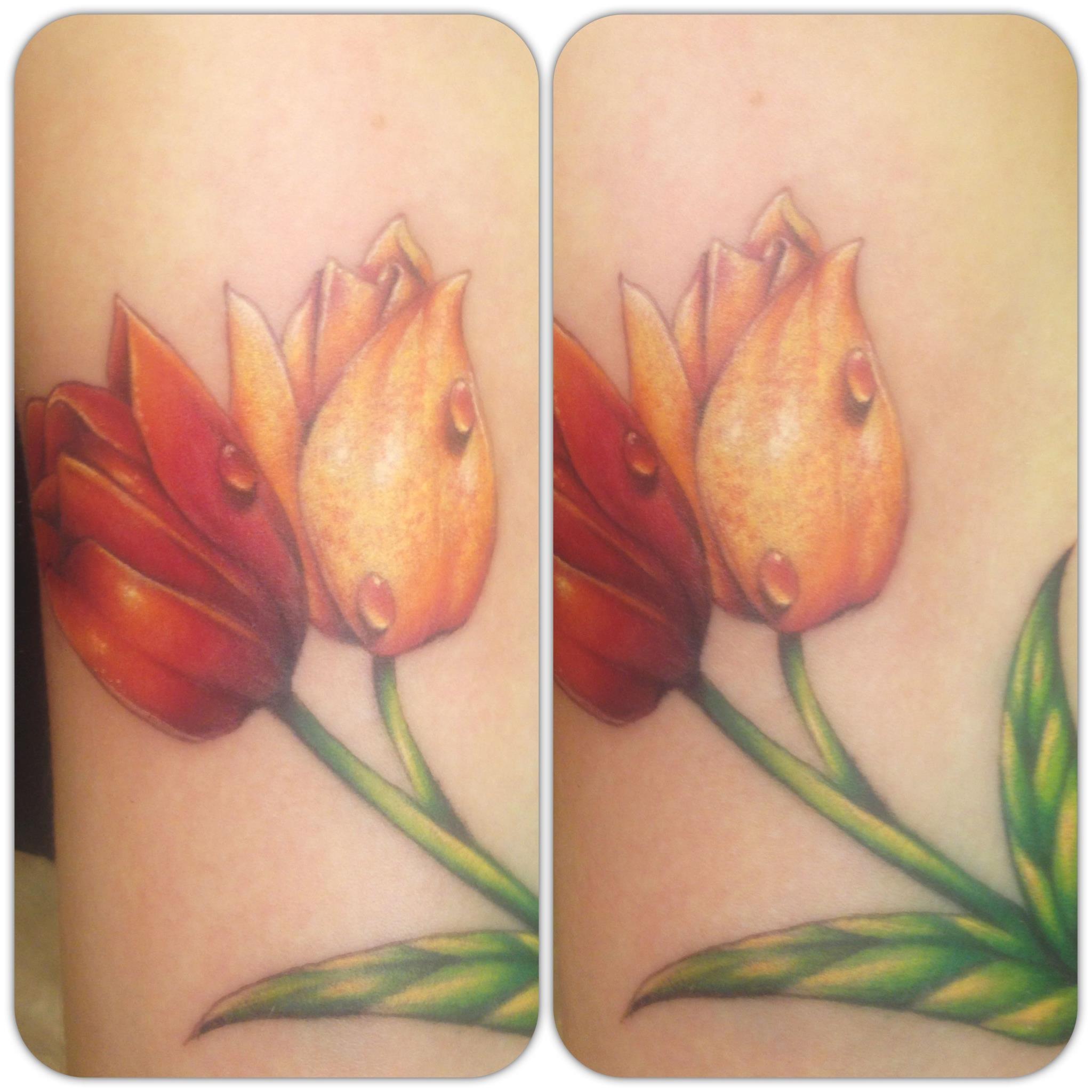 tulip tattoos photo - 16