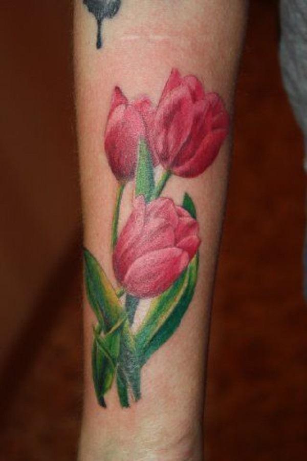 tulip tattoos photo - 18
