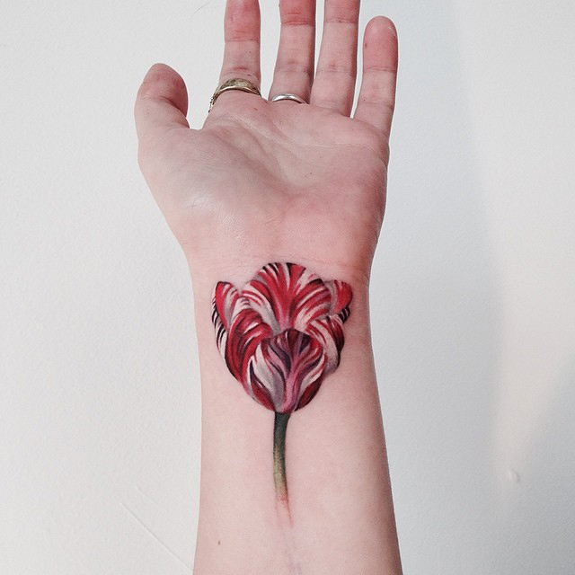 tulip tattoos photo - 21