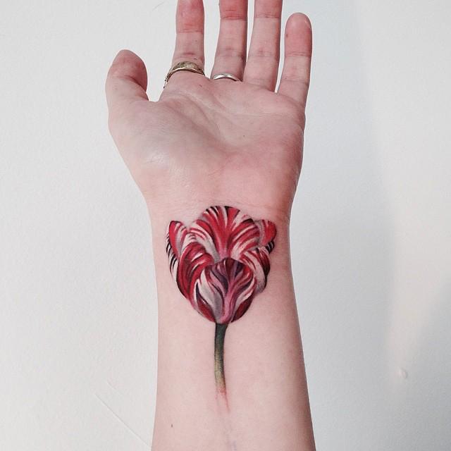 tulip tattoos photo - 21