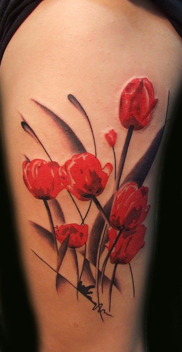 tulip tattoos photo - 3