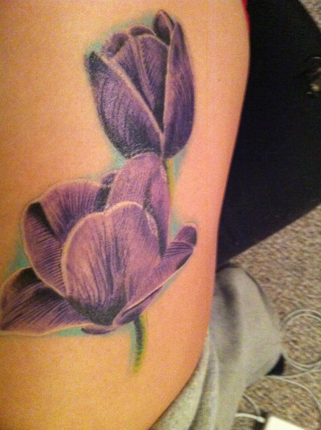 tulip tattoos photo - 35