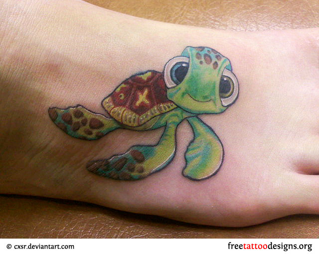 turtle tattoos photo - 1