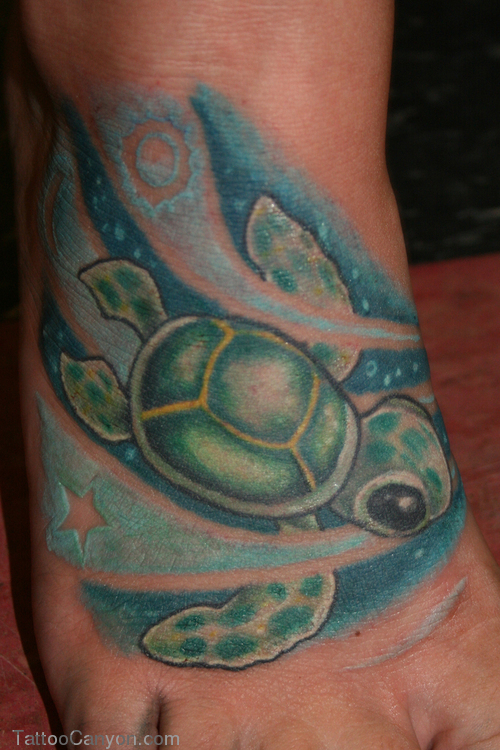 turtle tattoos photo - 20