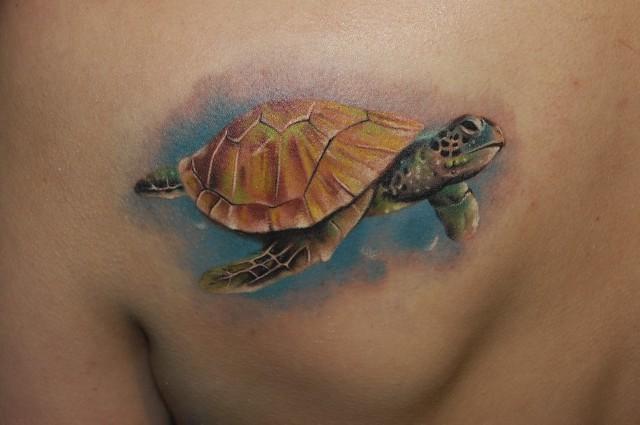 turtle tattoos photo - 21