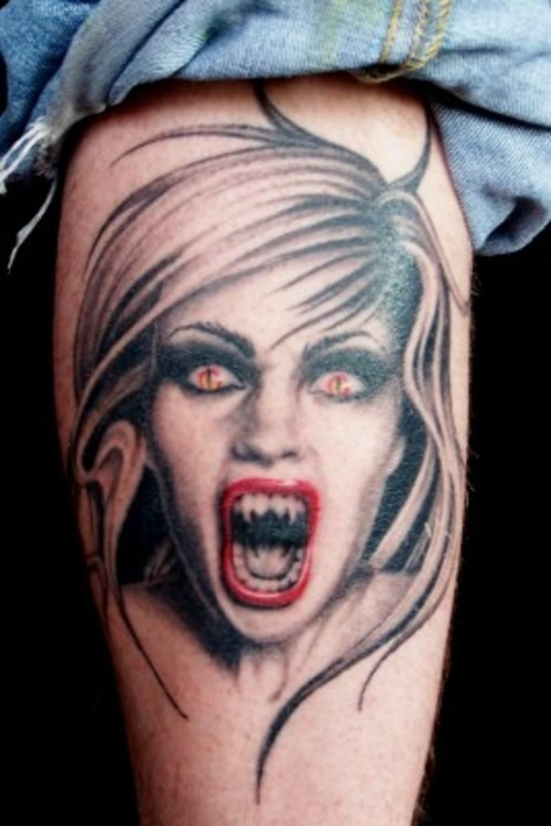 vampire tattoos photo - 3