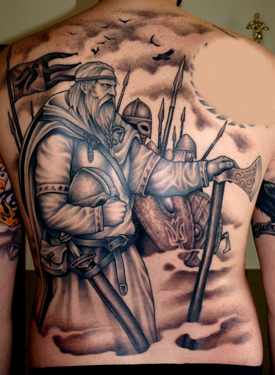 viking tattoos photo - 4