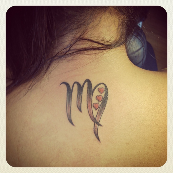virgo tattoos photo - 13