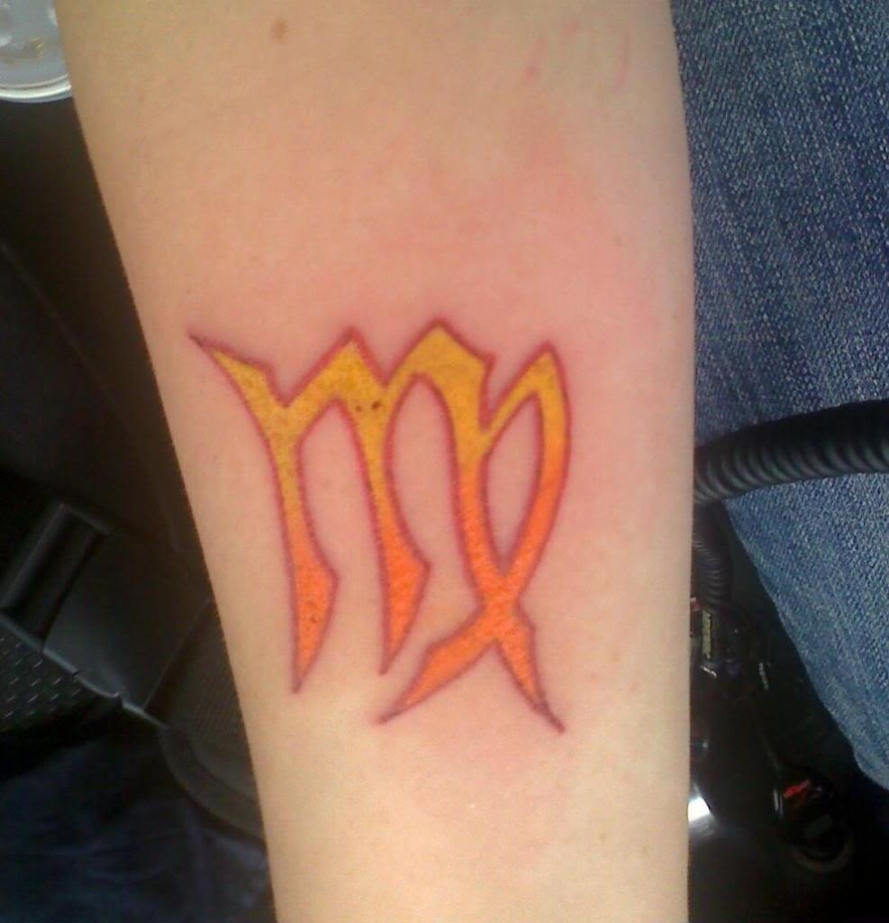 virgo tattoos photo - 16