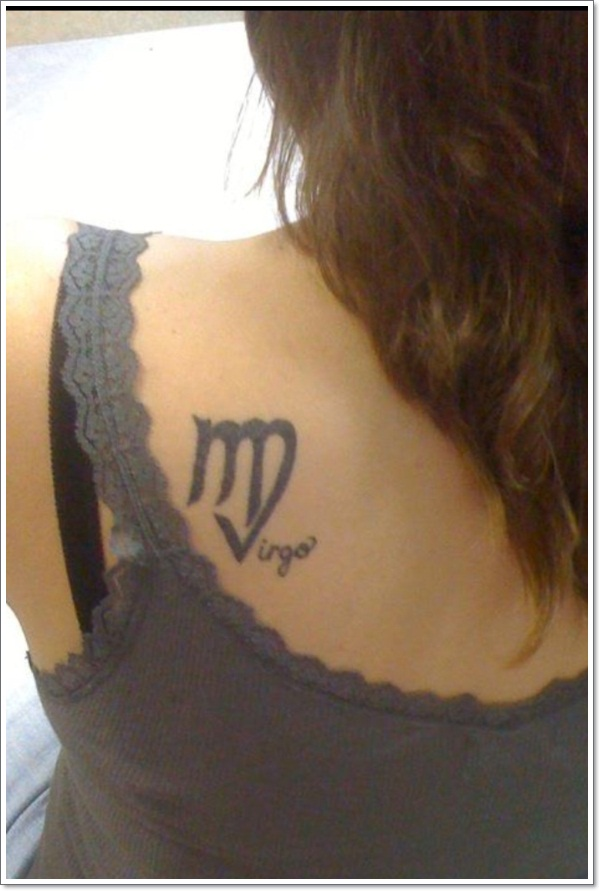 virgo tattoos photo - 26