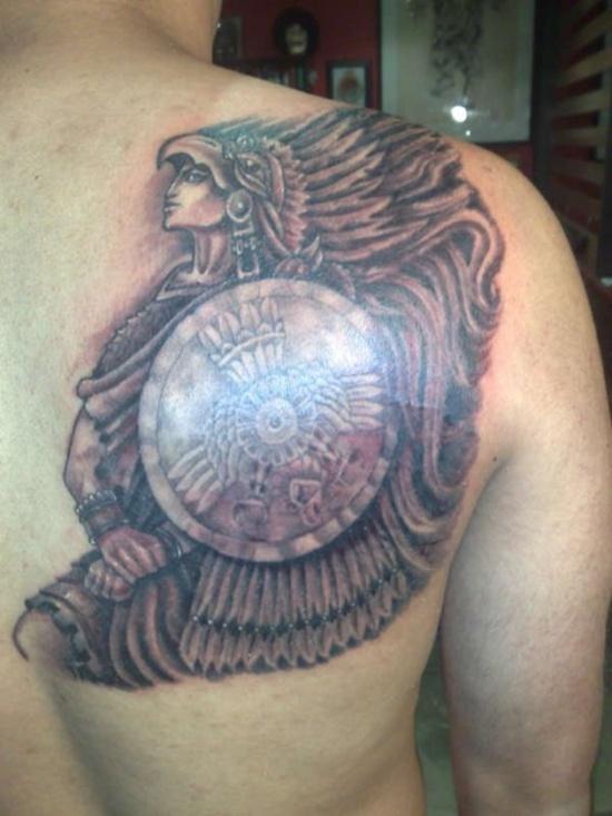 warrior tattoos photo - 13