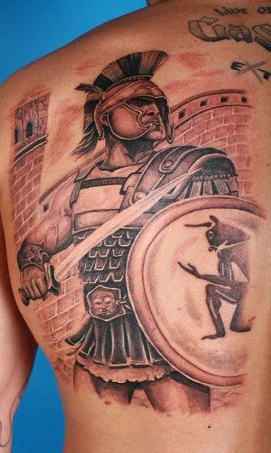 warrior tattoos photo - 14