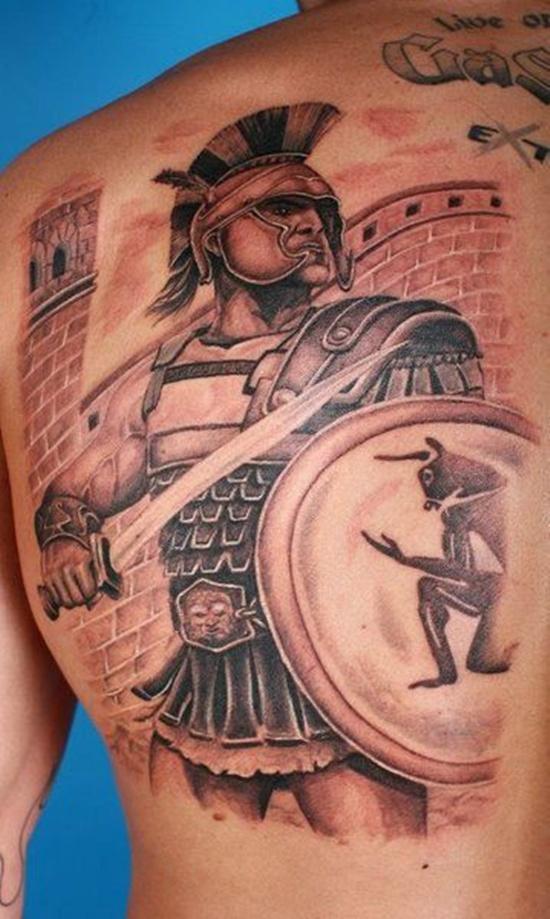 warrior tattoos photo - 14