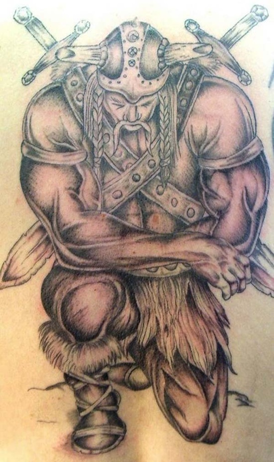 warrior tattoos photo - 15