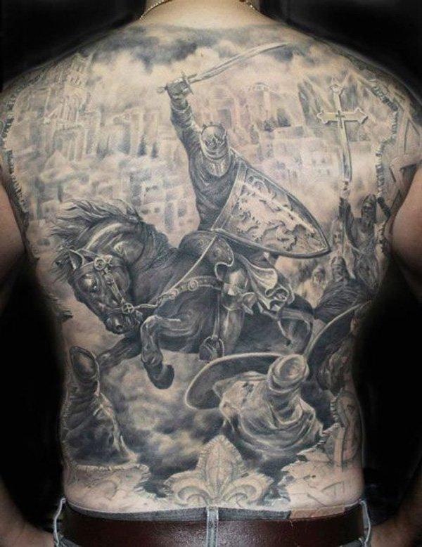 warrior tattoos photo - 18