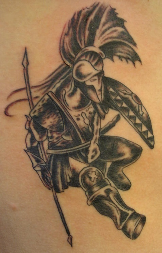 warrior tattoos photo - 2